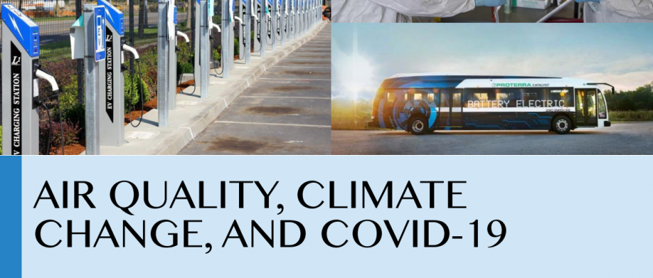 New Report Highlights Connection Between Air Quality, Climate Change, and COVID-19