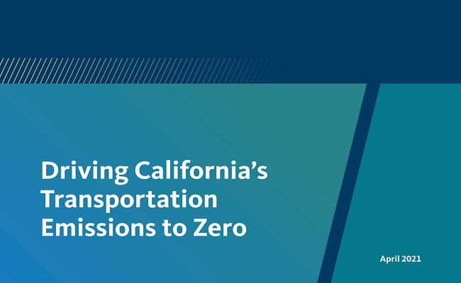 Driving California's Transportation Emissions to Zero