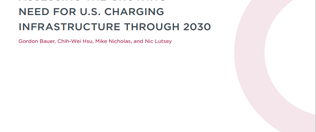 Charging up America: Assessing the growing need for U.S. charging infrastructure through 2030